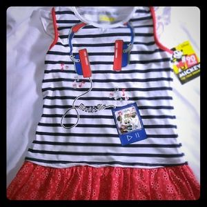 Other - Disney- Minnie and Mickey mouse girls dress